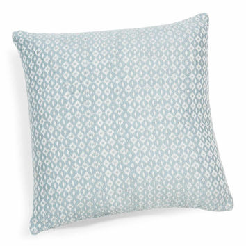 FREJA cushion cover in blue, 40x40cm | Maisons du Monde