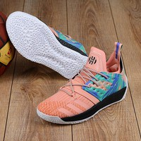 KUYOU A154 Adidas James Harden Vol.2 Boost Training Basketball Shoes Pink