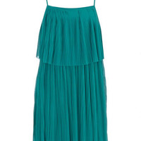 Green pleated flapper dress - View All - Dorothy Perkins