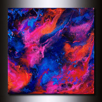 Giclee Print:12 x 12 Multi Coloured Abstract