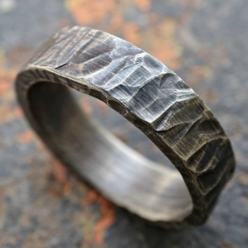 sucker round wedding close rings tag and forged it do think you bands into like hammer as ends ringd loveinthed the ring shape gets nice that together how