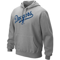 L.A. Dodgers Nike Classic Pullover Hoodie – Ash