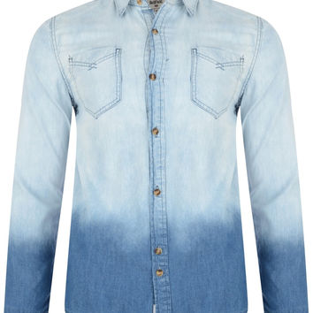 Bellfield Ontario Dip Dye Denim Shirt