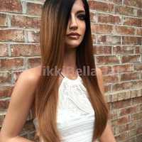"""straight lace front wig 22"""""""