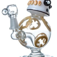"""BB-710"" THEMED DAB RIG Water Pipe by EMPIRE GLASSWORKS"
