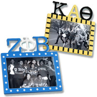 Sorority Letter Photo Frame - Clearance | custom sorority accessories and gifts from SomethingGreek.com