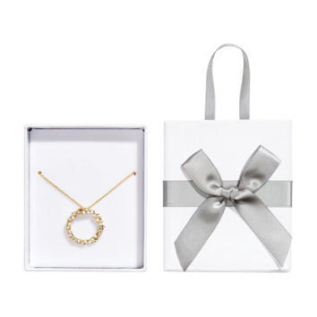 H&M Necklace with Crystal Pendant $17.95
