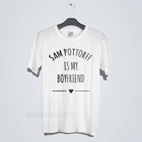 Sam Pottorff is My Boyfriend Gildan T-Shirt Men & Women Tshirt
