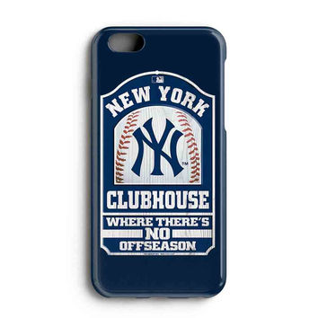"""Apple Iphone 6 4.7"""" Case - The Best 3d Full Wrap Iphone Case - New York Yankees Club House"""