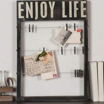 ENJOY LIFE CARD HOLDER