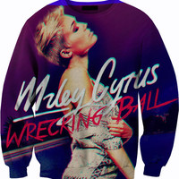 Miley Cyrus Wrecking Ball Sweater Crewneck Sweatshirt
