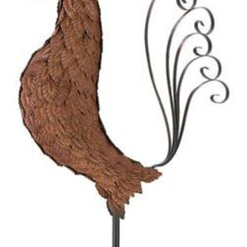 Iron Metal Sculpture Rooster