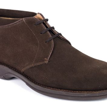 Church's Brown Suede Lace Up Cheryl Derby Shoes