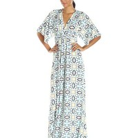 Rachel Pally Women's Long Printed Caftan Dress