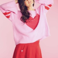 Brave Heart Chunky Oversized Sweater