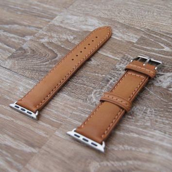 Apple Watch Band | CAMEL BROWN