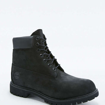 Timberland Classic 6-Inch Black Premium Boots - Urban Outfitters