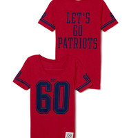 New England Patriots Athletic Tee - PINK - Victoria's Secret