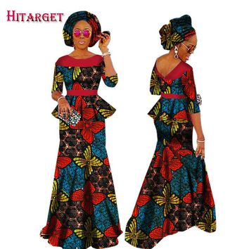 Autumn African Dresses for Women Private Custom Women African Dashiki