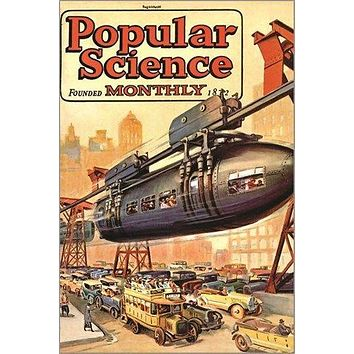 POPULAR SCIENCE monthly magazine VINTAGE COVER POSTER retro techie 24X36 HOT
