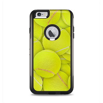 The Tennis Ball Overlay Apple iPhone 6 Plus Otterbox Commuter Case Skin Set