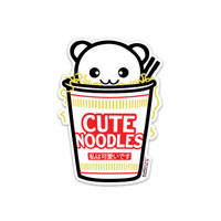 Cute Noodles Sticker - $6.00 : Fantastic Fam, Inc, Fashion. Family. Friends. Fun.