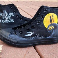 DCKL9 Custom Painted Nightmare Before Christmas Converse