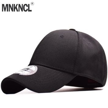 Trendy Winter Jacket MNKNCL High Quality 100% Cotton Baseball Cap Flexfit Fitted Closed Full Cap Men Sport Hats Polo Hats AT_92_12