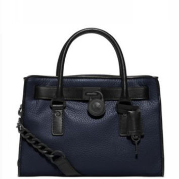 Michael Michael Kors Hamilton Two Tone East West Satchel
