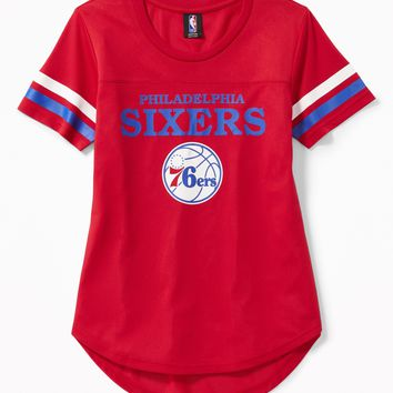 NBA® Team Mesh Jersey for Women|old-navy