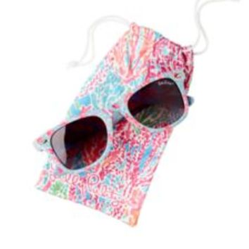 Madeline Wayfarer Sunglasses - Polarized - Lilly Pulitzer