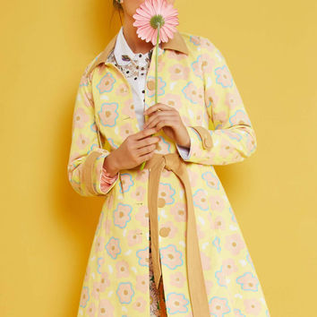 Delightful Direction Coat | Mod Retro Vintage Coats | ModCloth.com