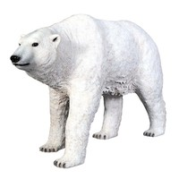 SheilaShrubs.com: The Polar Bear on the Prowl Statue NE110009 by Design Toscano: Garden Sculptures & Statues