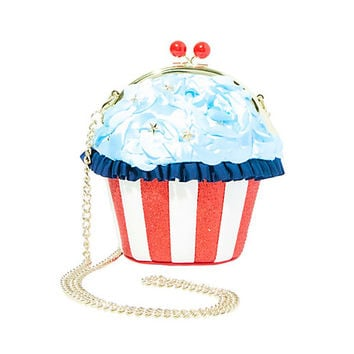 KITSCH SUMMER TREATS SNOWCONE CROSSBODY: Betsey Johnson