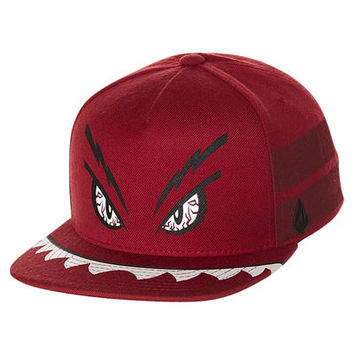SURFSTITCH - ACCESSORIES - CAPS - KIDS - VOLCOM KIDS STRANGE SNAPBACK CAP - RED