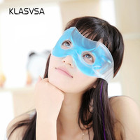 KLASVSA Hot Cold Relaxing Soothing Face Eye care Gel Mask Sleeping Eye Mask Eye Mask Shade Comfort Cover