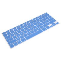 Blue Silicone Keyboard Cover Skin Film for Macbook Pro 13 15 - Default