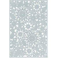 Sanibel Cutwork Outdoor Sky Blue Rug