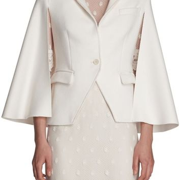Burberry Wool Cape Jacket | Nordstrom