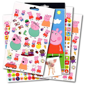 Peppa Pig Stickers - Over 295 Stickers ~ With Bonus Reward Sticker