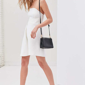 Keepsake Asymmetrical Hem Mini Dress | Urban Outfitters