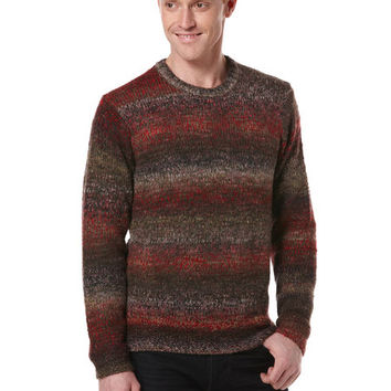 Wool Blend Crew Sweater
