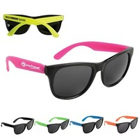 Promotional Neon Party Sunglasses   Customized Sunglasses