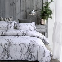Twin/Queen/King Gray Bedroom Comforter Bedding Sets Bed Quilt Sheets Set Bedclothes Duvet Cover Bedspread Pillowcase