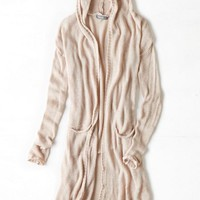 AEO Women's Don't Ask Why Hooded Sweater (Oatmeal)