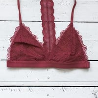 Dreamland Bralette - Berry