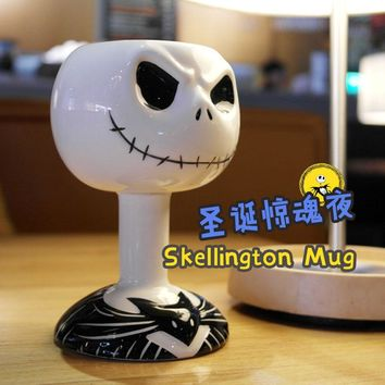 The Nightmare Before Christmas Jack Skellington Mug Ceramic Coffee Mug Cup Birthday Gift