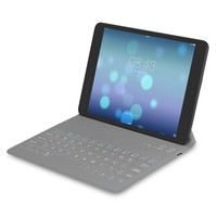 Techpro Ultra Slim lightweight Bluetooth Touch Liquid and dust-proof Keyboard Cover-Blue.Designed for all Ipad Generations Including Ipad Air and compatible with 10'' Bluetooth tablets.