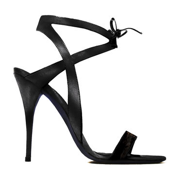 Narciso Rodriguez Snakeskin Sandals - Open Toe Sandals - ShopBAZAAR