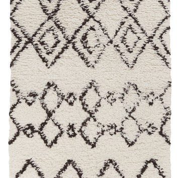 Surya Sherpa Shag Area Rug Neutral, Gray